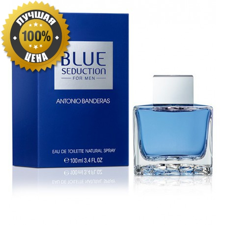 Antonio Banderas Blue Seduction men, купить , отзывы, цена.