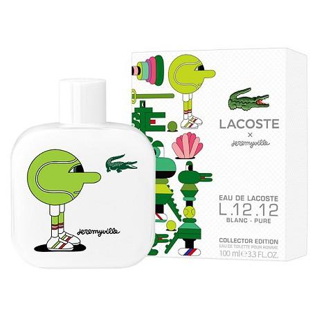 Lacoste L.12.12 Blanc Pure Collector Edition Pour Homme x Jeremyville